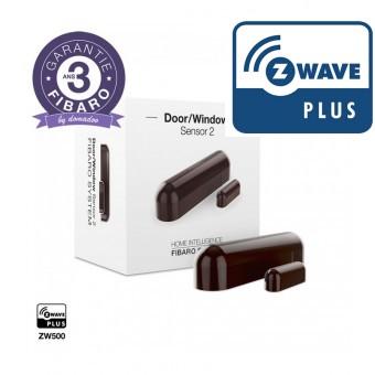Detector de Apertura con sensor de temperatura incorporado Z-Wave Plus Versión 2 - Fibaro