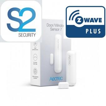 Detector de apertura de Puerta/Ventana Sensor 7 - Z-Wave Plus - Aeotec