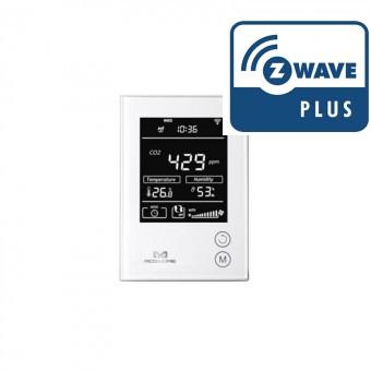Sensor de CO2, Temperatura y Humedad Z-Wave Plus - MCOHOME