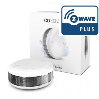 Sensor de Monóxido de Carbono Z-Wave Plus - Fibaro