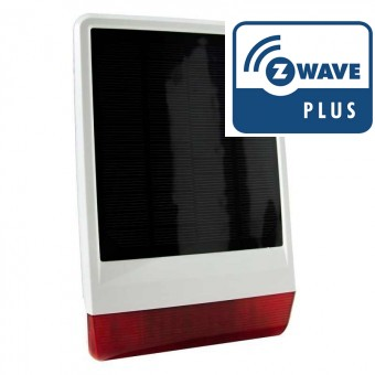 Solar siren Z-Wave Plus POPP