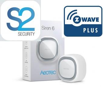 Sireia Z-Wave Plus Aeotec Siren 6