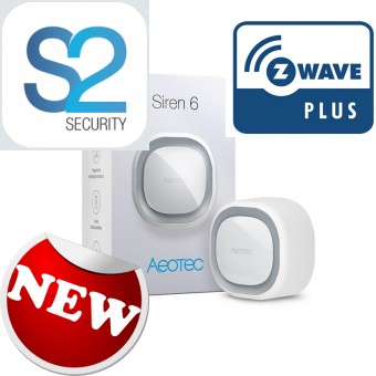 Siren Z-Wave Plus Aeotec Siren 6