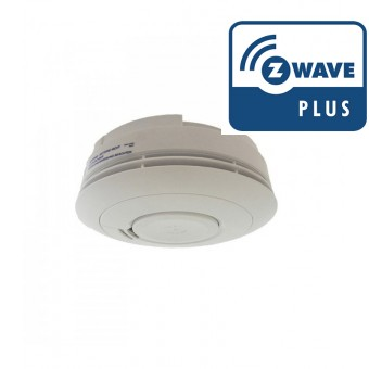 Z-Wave Smoke Detector with 10 years autonomy - Popp
