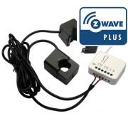 Micromodule medidor de energia Z-Wave Plus da ZIPATO