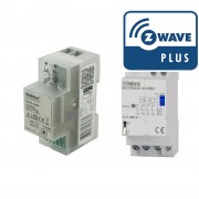 Pack Smart Meter Z-Wave Plus e interruptor biestable 32A - Qubino