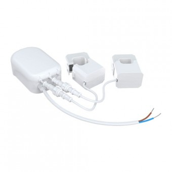 Medidor de  consumo eléctrico (2Pinza 60A), v. G2 -AEON LABS