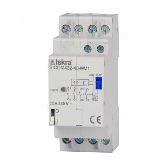 Interruptor biestable 32A Smart Meter - QUBINO (Iskra)