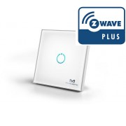 Interruptor tactil de cristal para pared - Z-Wave Plus - MCO HOME