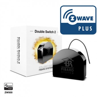 Micromodulo interruptor doble Z-Wave Plus FGS-223 - Fibaro