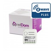 Double Switch Relay Z-Wave Plus - Widom