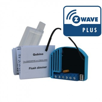 Módulo oculto dimmer (Regulación)  Z-Wave Plus - Qubino