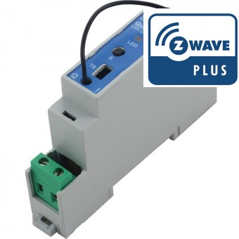 Dimmer para carril DIN Z-Wave Plus - Qubino