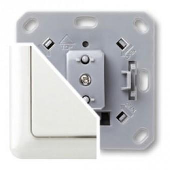Regulador de luz (dimmer) con tecla y marco serie Everlux