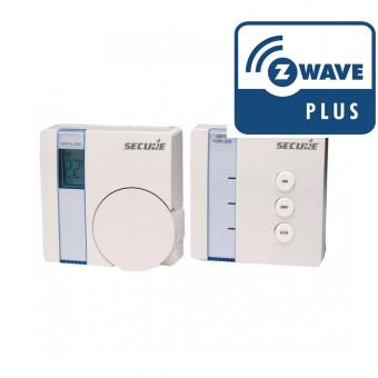 Termostato SRT321 + Actuador SSR303 - Z-Wave Plus - SECURE