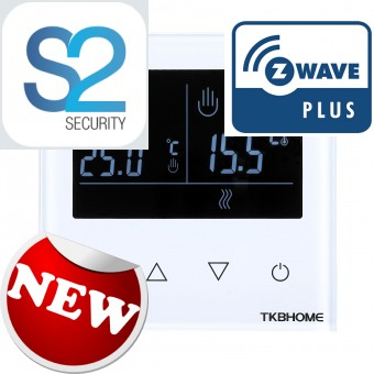 LCD touch screen Wall Thermostat  - TKB Home
