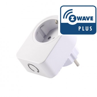 Enchufe controlado (on/off)  Z-Wave Plus (GEN5) con medición de consumos - AEON LABS