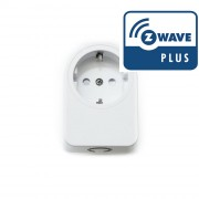 Enchufe controlado (on/off)  Z-Wave Plus con medición de consumos - Foxx