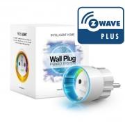 Enchufe controlado (on/off) con medidas de consumos de Fibaro Z-Wave Plus