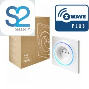 Enchufe de pared encastrado Fibaro Walli Z-Wave Plus