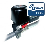 Z-Wave motor for  1/4 turn water/gas valves -  Popp - Z-Wave Plus