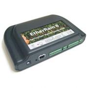 EtherRain Control IP para riego 8 zonas/electroválvulas