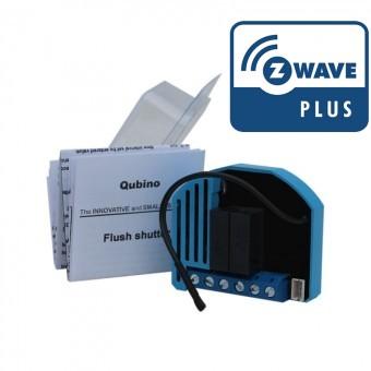 Modulo oculto para persianas AC Z-Wave Plus Qubino con medidas de consumo