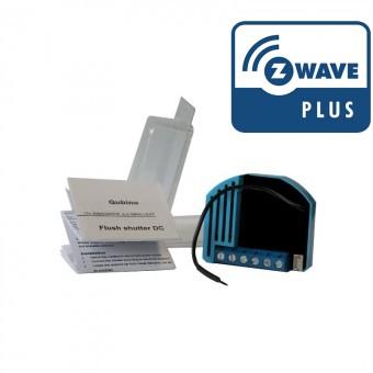 Micro Modulo para estores  DC Z-Wave Plus Qubino com medição de consumos