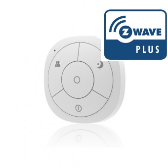 Mando a distancia recargable de cuatro botones Z-Wave Plus - Hank