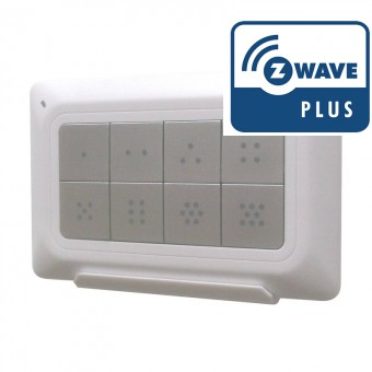 Controlador de pared Z-Wave Plus Remotec