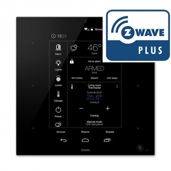 ZipaTile Controlador mural Z-Wave Plus y Zigbee todo en uno