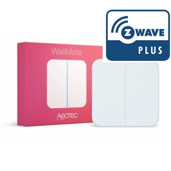 WallMote Dual - Control de pared con 2 botones - Aeon Labs