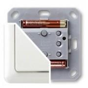 Control de Pared a pilas con tecla y marco Düwi serie Duro 2000