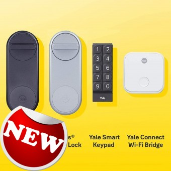 Linus Smart Bluetooth Connected Lock - Yale