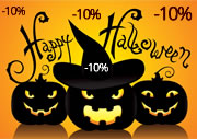 Descuento Halloween 10%